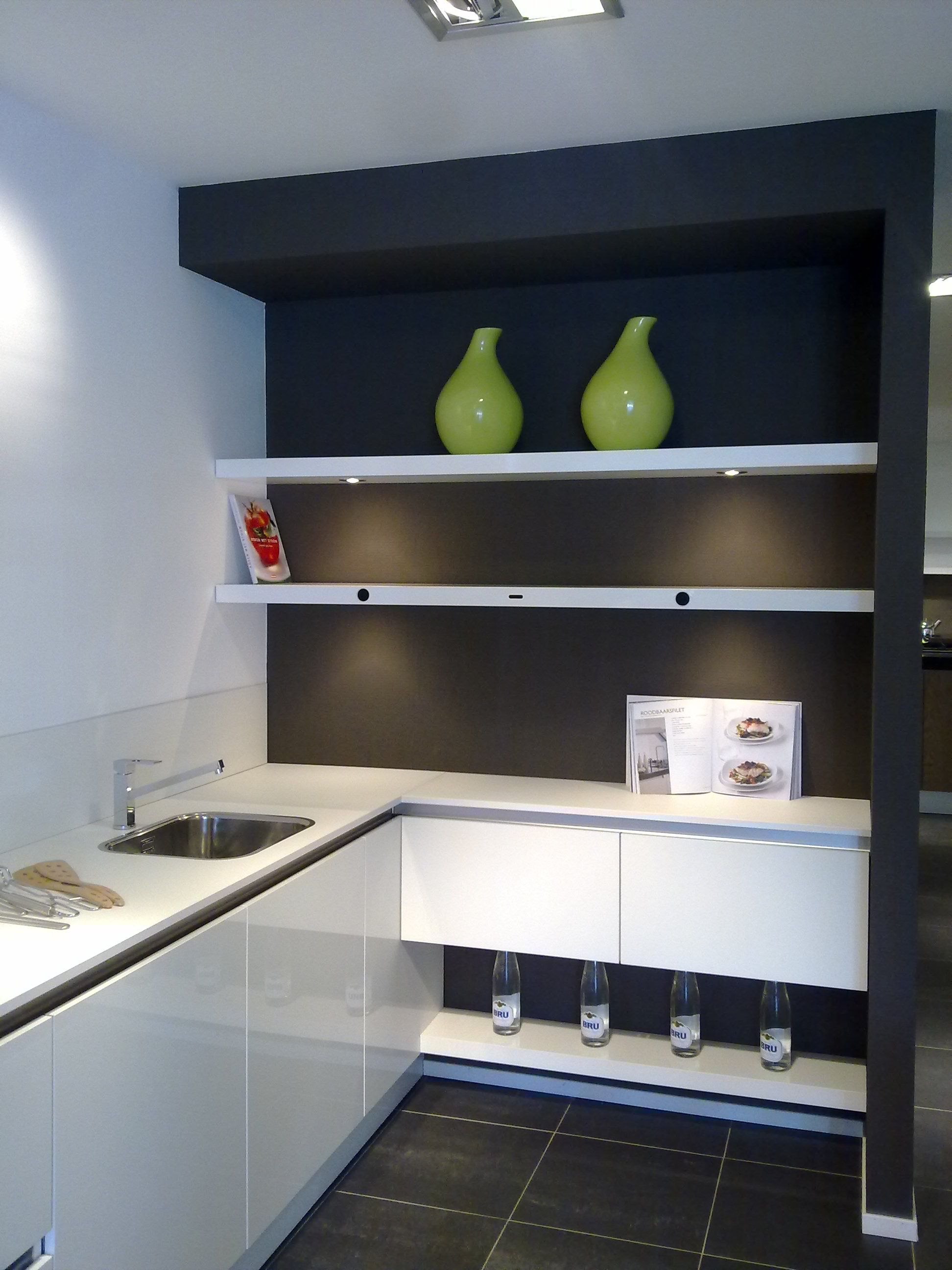 Genoeg Witte Hoogglans Keuken Ikea Ki45 Belbin Info